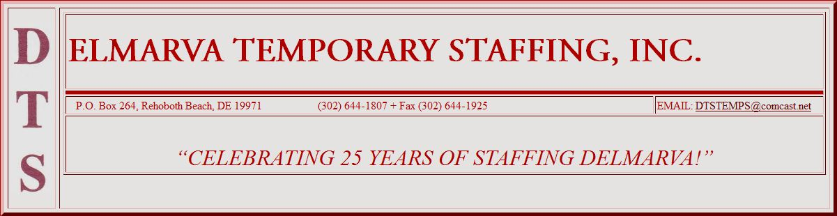 Delmarva Temporary Staffing